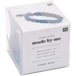 Jewellery Made by Me Makrameeset ocean-blue für 3 Armbänder