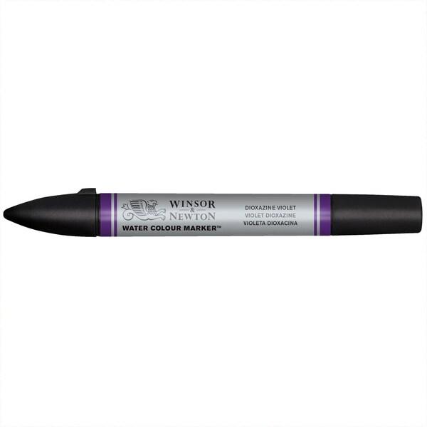 Winsor & Newton Aquarellmarker alizarin crimson hue dioxazine violet