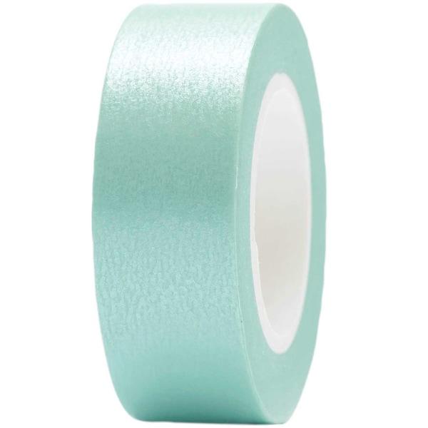 Paper Poetry Tape uni 15mm 10m aqua