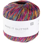 Rico Design Creative Make it Glitter 25g 100m rainbow