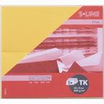 Artoz Tischkarte S-Line 200g/m² 5 Stück weinrot