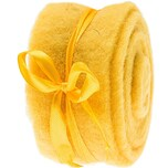 Dekoband Filz 5x200cm gelb