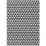 Rico Design Paper Patch Papier Dreiecke schwarz-weiß 30x42cm