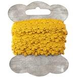 Häkelbordüre 1,5cm 3m gelb