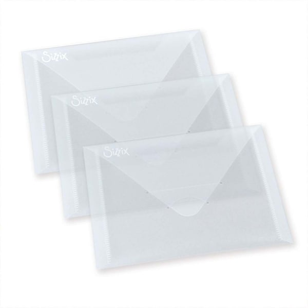 Sizzix Envelopes zur Aufbewahrung 3 Stück