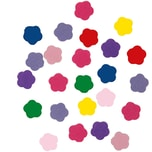 Rico Design Filzblumen mehrfarbig selbstklebend