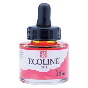 ECOLINE flüssige Wasserfarbe 30ml karmin