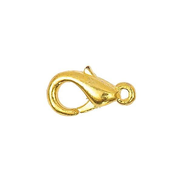 Jewellery Made by Me Karabiner gold 12mm 10 Stück