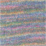 Rico Design Creative Cotton Colour Coated 50g 125m pastell Mix