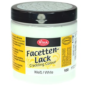 VIVA DECOR Facettenlack 250ml weiß