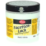 VIVA DECOR Facettenlack 250ml weiß