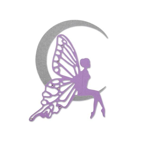 Sizzix Thinlits Die Fairy Moon by Jennifer Ogborn