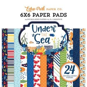 DECOHOBBY Scrapbooking Paper Pad Under the Sea 15,2x15,2cm