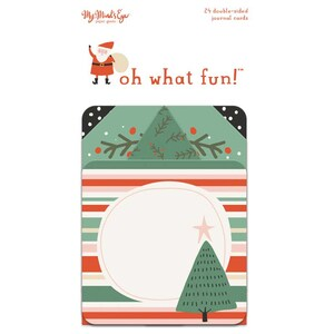 MyMindsEye Oh What Fun - Journal Cards