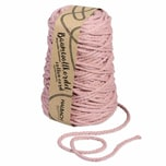 HALBACH Baumwollkordel für Makramee 5mm 80m 500g altrosa