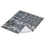 Duck Tape Bogen 21x25,4cm stylish zebra