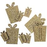 Geschenkstreu gold-glitter 24 Stück