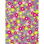 décopatch Papier Kreise mehrfarbig 3 Bogen