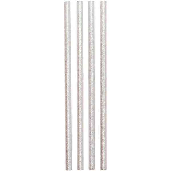 Rico Design Bleistifte 17,5cm 4 Stück glitter weiß