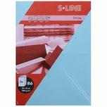 Artoz Doppelkarte S-Line B6 200g/m² 5 Stück hellblau