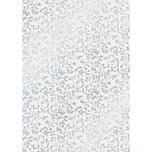 HEYDA Transparentpapier Primavera Roma silber 50x70cm 115g/m²