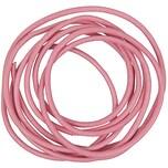 Rico Design Lederband 2mm 1m pink