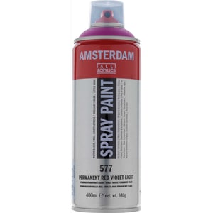 AMSTERDAM Spray 400ml permanent rotviolett hell