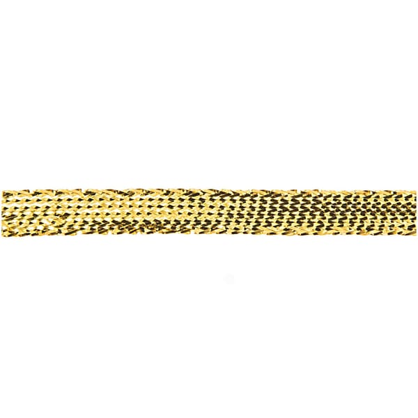 Metallicband gold 6mm 10m