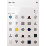 Paper Poetry Glitterpapierblock Magical Mix DIN A4 10 Blatt