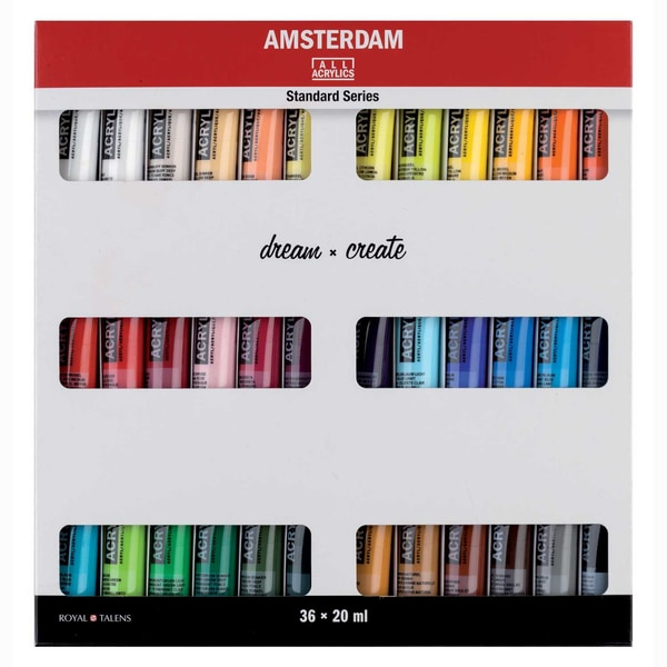 AMSTERDAM Acrylfarbe Set 36x20ml