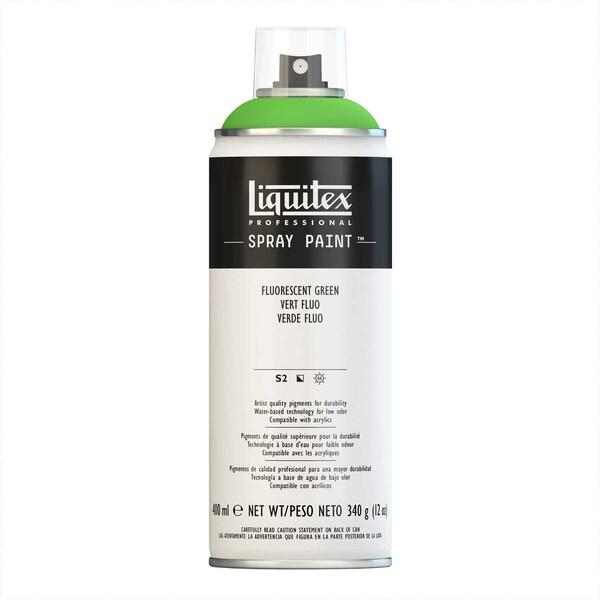 Liquitex Acrylspray 400ml grün fluo