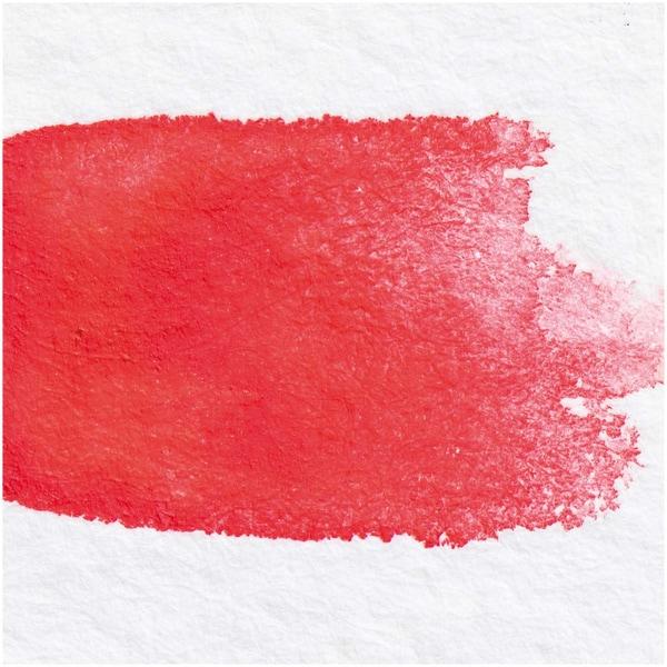 Rico Design ART Künstler Aquarellfarbe halbes Näpfchen brillantrot
