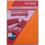 Artoz Kuvert S-Line C6 100g/m² 5 Stück orange