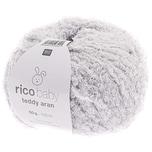 Rico Design Baby Teddy aran 50g 135m hellgrau