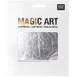 Rico Design Magic Art Blattmetall 6 Blatt silber