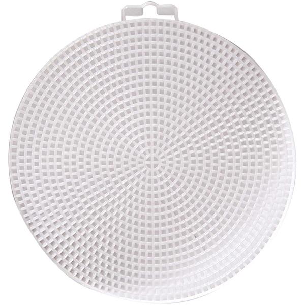 Rico Design Plastikstramin rund 14,6cm 2 Stück