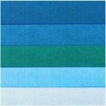 Paper Poetry Seidenpapier blau sortiert 50x70cm 5 Bogen