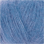 Rico Design Essentials Super Kid Mohair Loves Silk 25g 200m azur