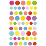 Paper Poetry Sticker Kreise mehrfarbig 10x19cm 4 Bogen