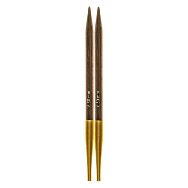 KnitPro Nadelspitzen auswechselbar Birkenholz 6,5