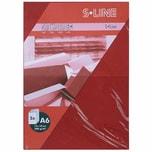 Artoz Doppelkarte S-Line A6 200g/m² 5 Stück weinrot