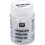 Rico Design Ledermalfarbe 20ml weiß