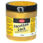VIVA DECOR Facettenlack 250ml gold
