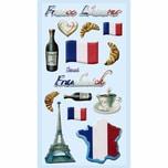 HobbyFun SoftySticker Frankreich 17,5x9cm