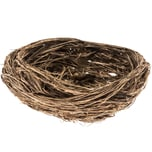 Deko Nest natur Ø=8cm 4 Stück