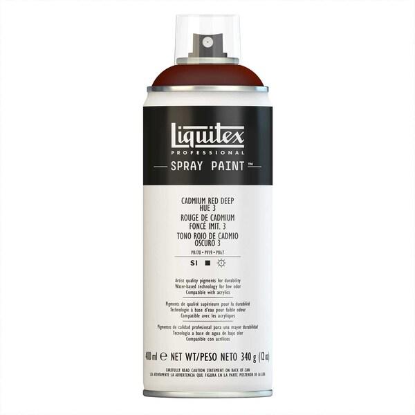 Liquitex Acrylspray 400ml kadmiumrot dunkel