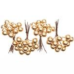 Beerenpick gold 7cm 4 Stück