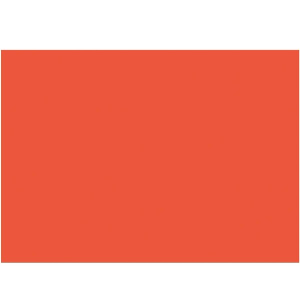 folia Tonzeichenpapier 50x70cm 130g/m² orange