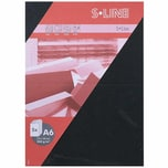 Artoz Doppelkarte S-Line A6 200g/m² 5 Stück schwarz