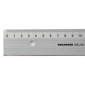 RUMOLD Schneidelineal Aluminium 50cm